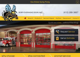 Bob%27s+Overhead+Door Website