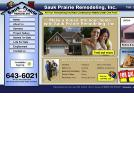 Sauk+Prairie+Remodeling+Inc Website