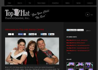 Top+Hat+Dance+Centre+Inc Website