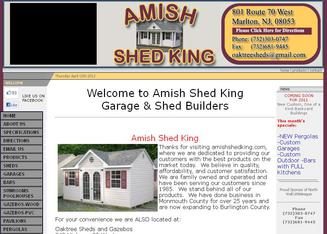 amish shed king of new jersey