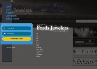 Fords+Jewelers Website