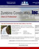 Zumbino+Construction Website