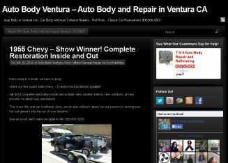 T+N+S++Auto+Body+Repair+and++Refinishing Website