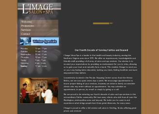 L%27Image+Salon+and+Spa Website