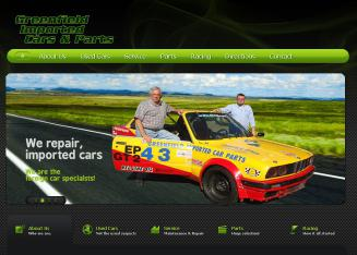 Greenfield+Import+Cars+Inc. Website