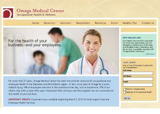 Omega+Medical+Center Website
