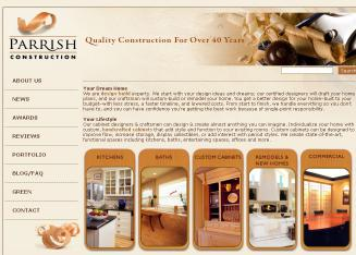 Parrish+Construction+Company Website