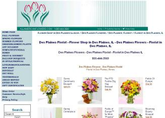 Des+Plaines+Flowers+All+American+Florist Website