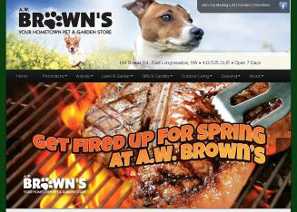 Brown A W Pet & Garden
