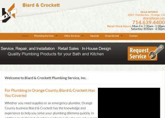 Biard & Crockett Plumbing Service