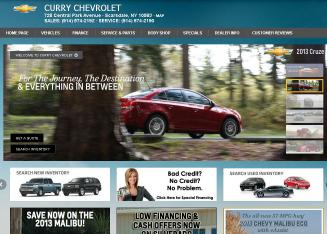 Curry+Chevrolet Website