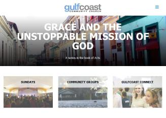 Gulf+Coast+Community+Church Website