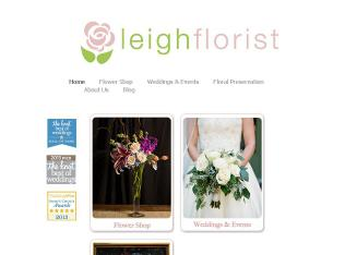 Leigh+Florist Website