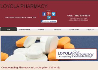 Loyola+Pharmacy Website