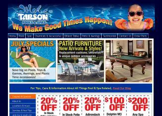 Tarson Pools Amp Spas In Syracuse Ny 6071 E Taft Rd
