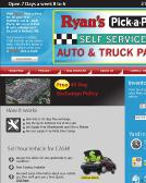 Ryan%27s+Hubbell+Auto+Parts Website