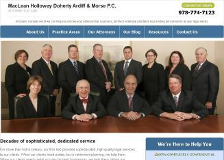 MacLean+Holloway+Doherty+Ardiff+%26+Morse+P.C. Website