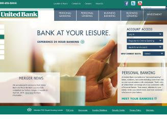 United+Bank Website