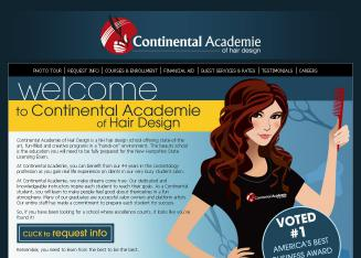 Continental+Academie+Of+Hair+Design Website