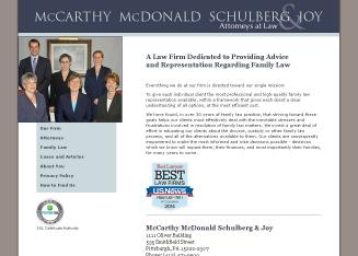 Mccarthy+Mcdonald+Schulberg+%26+Joy Website