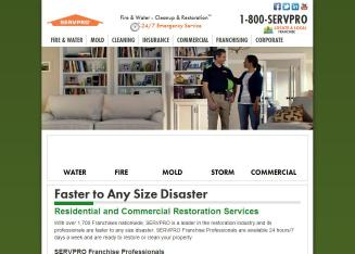 Servpro+of+Metro+Pittsburgh Website
