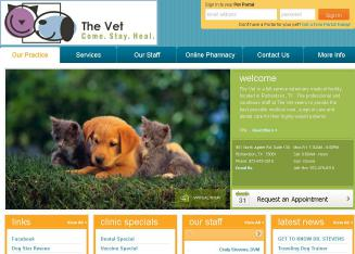 The+Vet+Formerly+Northstar+Animal+Clinic Website