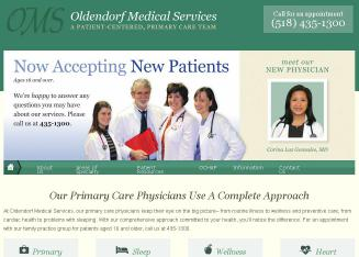 Oldendorf+Medical+Service+-+Mark+W+Oldendorf+MD Website