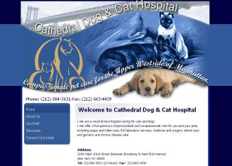 Cathedral+Dog+%26+Cat+Hospital Website