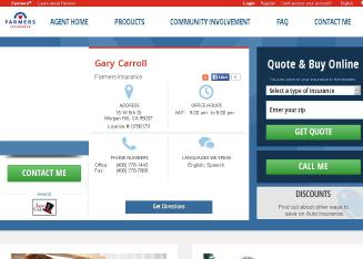 Carroll+Gary Website