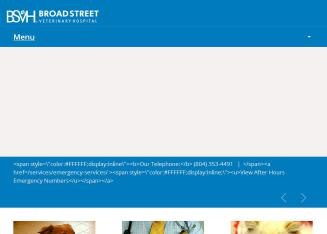 Broad+Street+Veterinary+Hospital Website