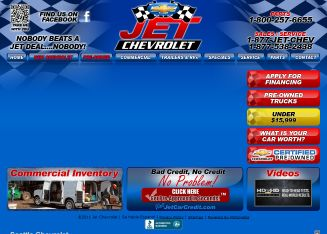 Jet+Chevrolet+INC Website