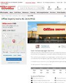 Office+Depot Website