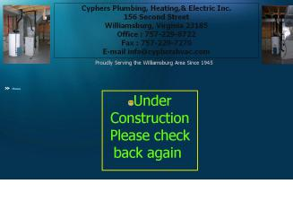 Cyphers Plumbing Heating & Electrical INC