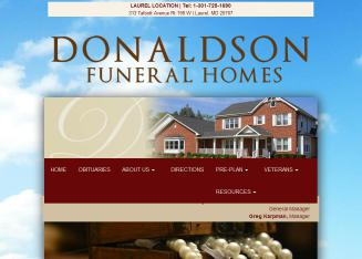 Donaldson+Funeral+Home+P+A Website