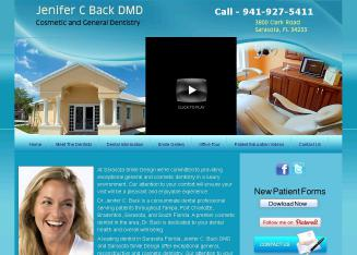 Sarasota Centre For Smile Design - Jenifer C Back