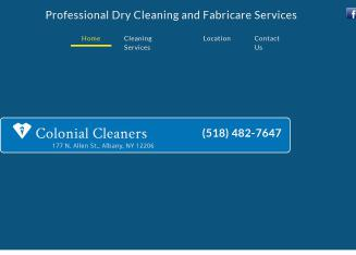 Colonial+Cleaners Website