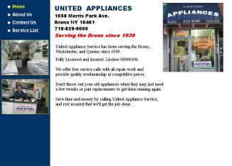 United Appliances Service Inc