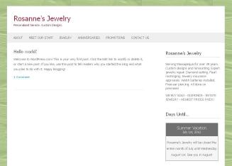 Rosanne%27s+Jewelry Website