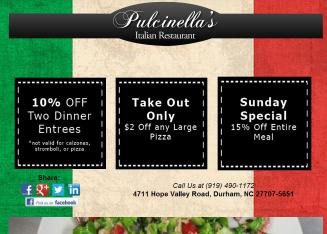 Pulcinella%27s+Restaurant Website