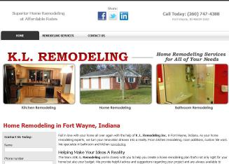 K+L+Remodeling Website