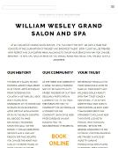 William Wesley Salon & Day Spa