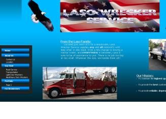 Laso+Wrecker+Service+LLC Website
