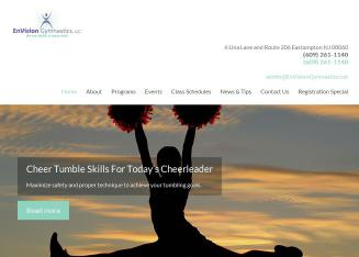Envision+Gymnastics Website