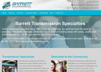 Barrett+Transmission+Specialties Website