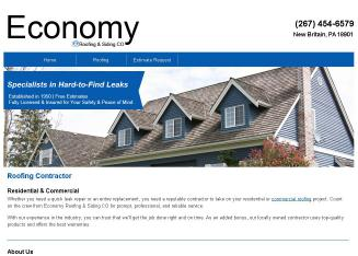 Economy Roofing & Siding CO