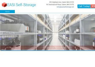 EASI+Self-Storage Website