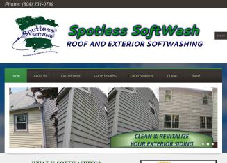 Spotless+Window+Cleaning+Company Website