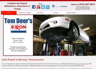 Tom+Door%27s+Exxon Website
