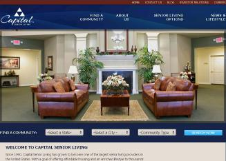Capital+Senior+Living Website