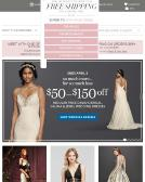 David%27s+Bridal Website